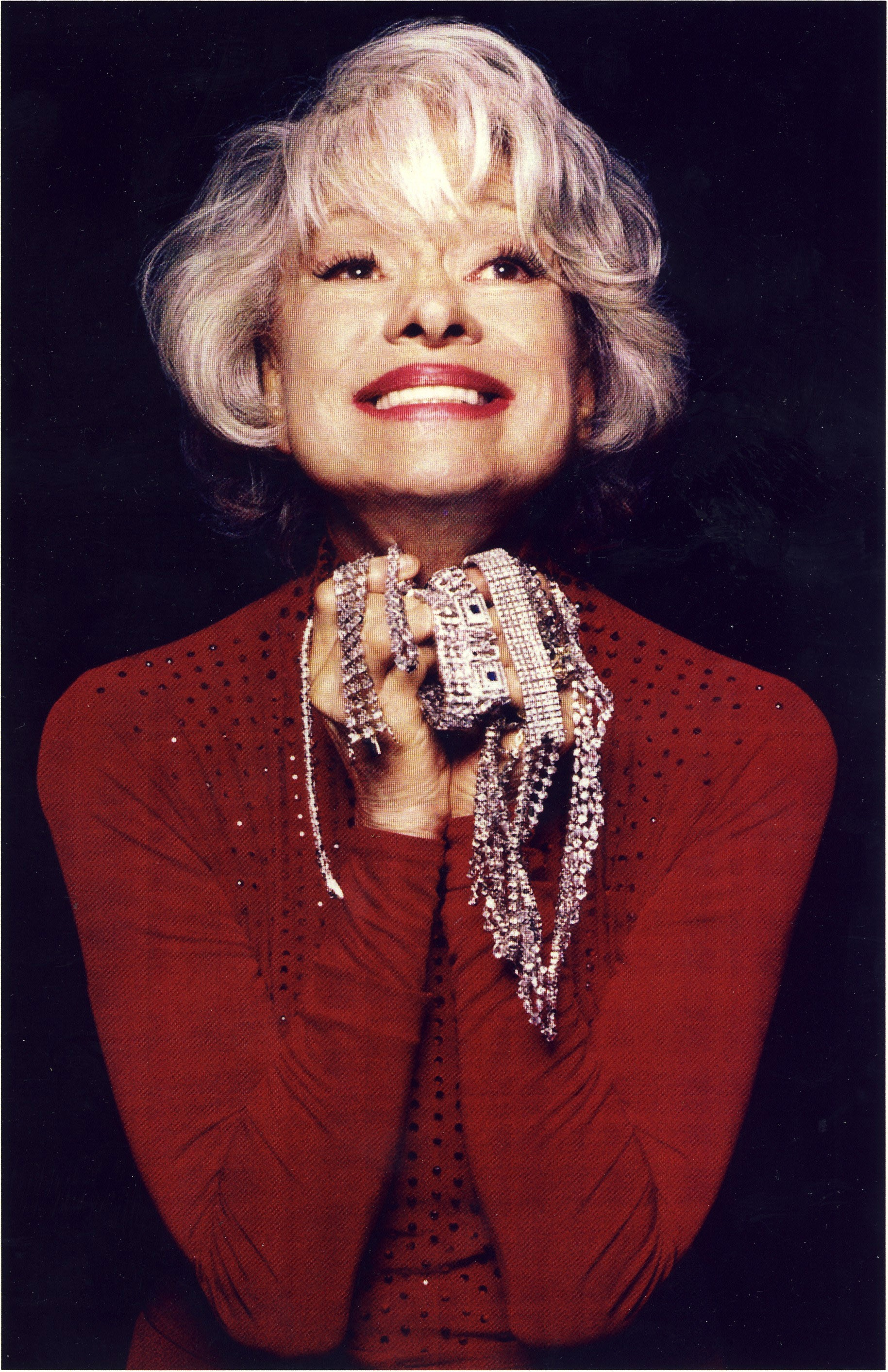 Carol Channing. Photo credit: Michael Davis.