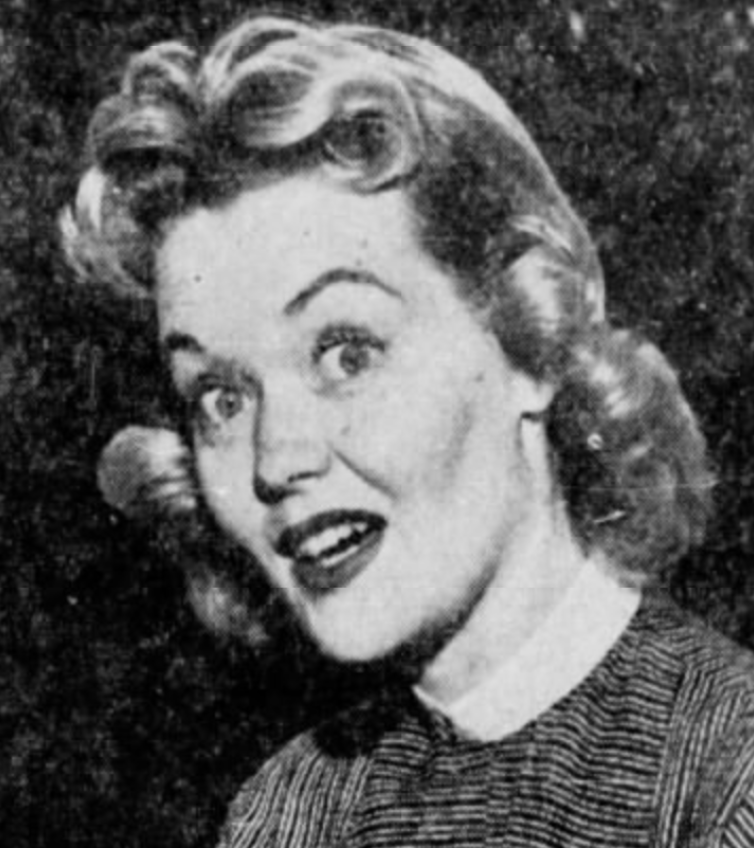 Betty Gillett in 1955