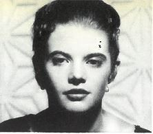 Lois Smith, as pictured in Theatre World 1955-1956