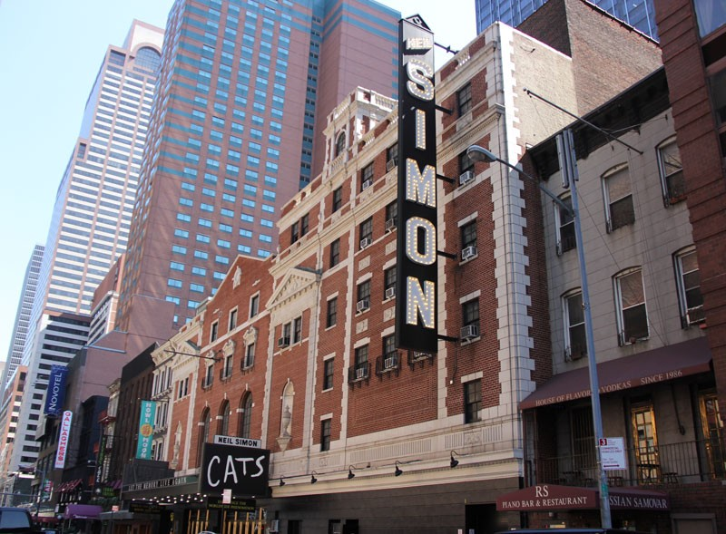 Neil Simon Theatre - Summer 2016