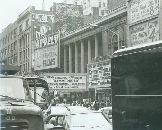 Academy Theatre - The Apollo Theatre in Times Square. Bill Morrison Collection, courtesy of The Shubert Archive.