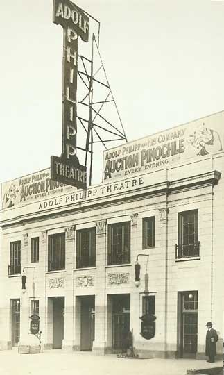 Bandbox Theatre - Courtesy of the Shubert Archive.