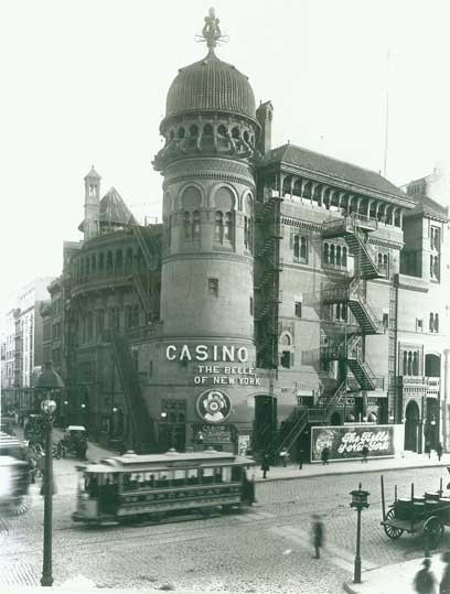 Casino Theatre - Courtesy of The Shubert Archive.