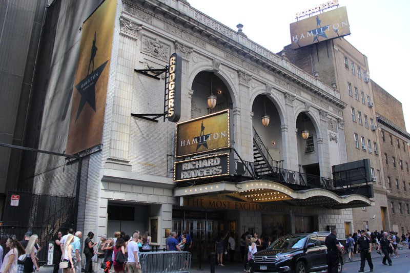 Richard Rodgers Theatre - Summer 2016