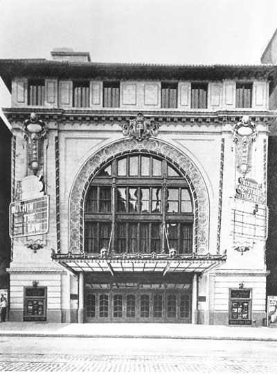 Empire Theatre - Circa 1912, Bill Morrison collection, courtesy of The Shubert Archive.
