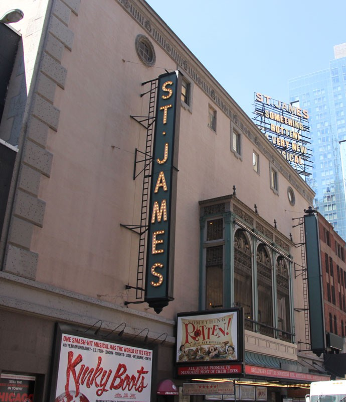 St. James Theatre - Summer 2016