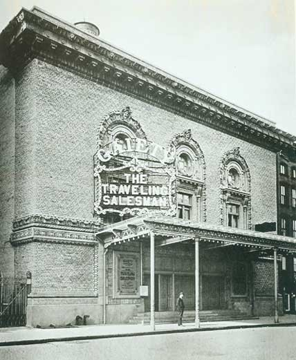 Embassy Five Theatre - Circa 1909, Bill Morrison Collection, courtesy of The Shubert Archive.