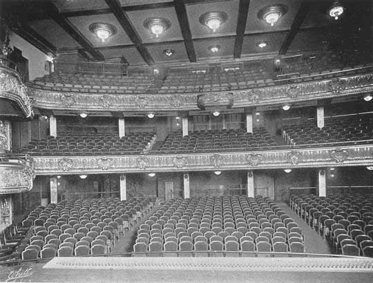 George M. Cohan's Theatre - Bill Morrison collection, courtesy of the Shubert Archive.