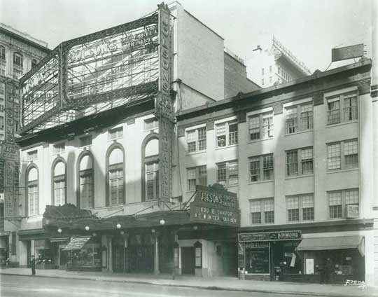 New Century Theatre - Circa 1920. Courtesy of The Shubert Archive.