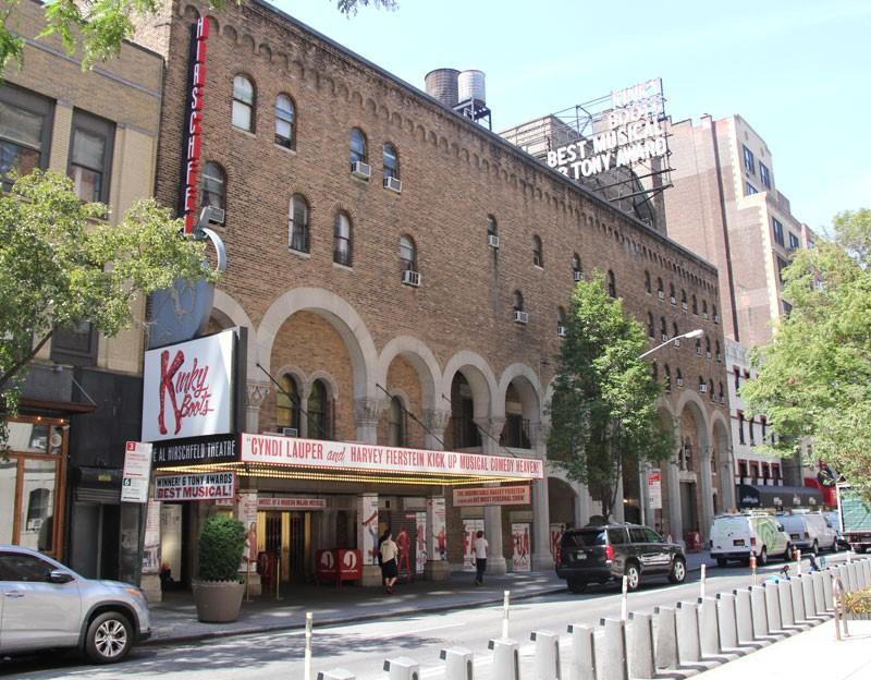Al Hirschfeld Theatre - Summer 2016