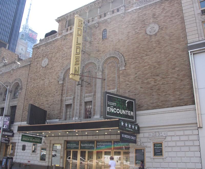 John Golden Theatre - Summer 2016