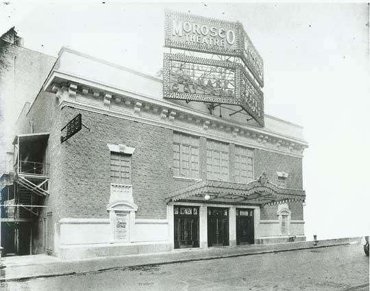 Morosco Theatre - Circa 1917. Bill Morrison collection, courtesy of the Shubert Archive.