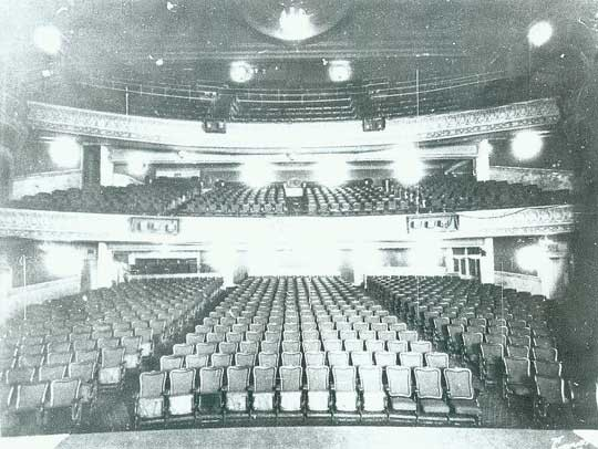 Harkness Theatre - Circa 1928.  Bill Morrison collection, courtesy of the Shubert Archive.