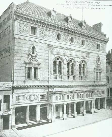 Garrick Theatre - Bill Morrison collection, courtesy of The Shubert Archive